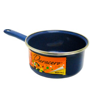 Cazo 14 Cms Peltre Duracero Azul  Vasconia 182495