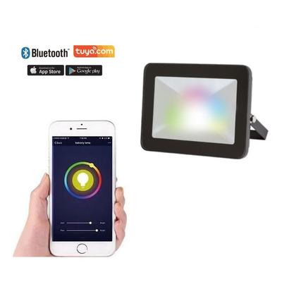 Reflector Led 20w Rgb Smart Bluetooth Exterior App Tuya