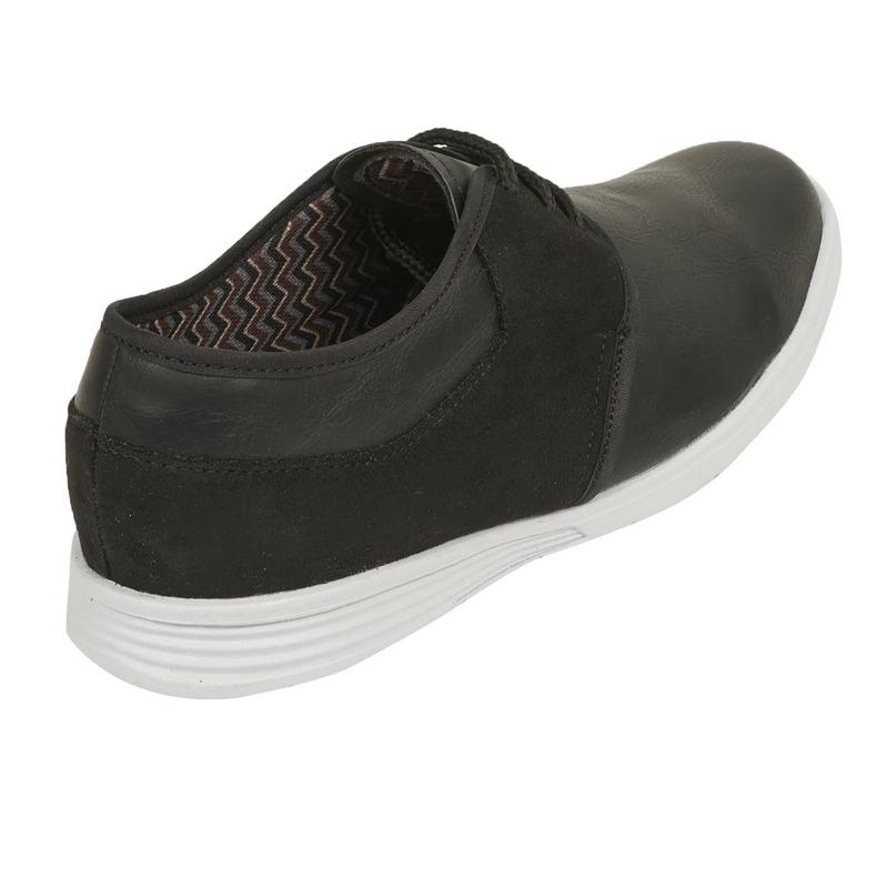 Zapato negro agujetas  018615