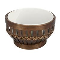 Bowl Bambu Porcelana 12Cm Redon Dark 7518940