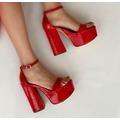 Sandalia 1334 Rojo