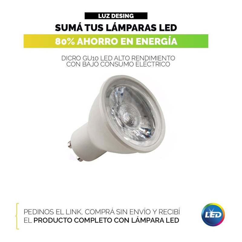 Aplique 2 Luces Bocha Cromo Cabezal Movil Apto Led Mks