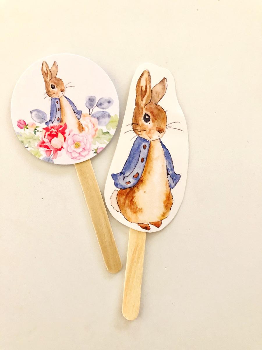 Pinchos de Peter Rabbit by @weddingfactory
