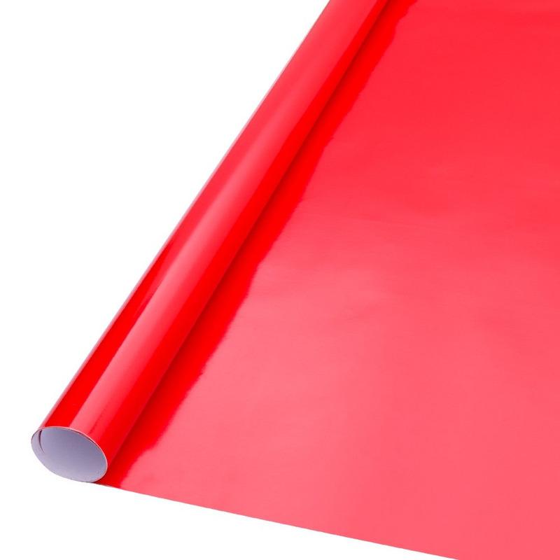 Vinil adesivo Goldmax vermelho intenso larg. 0,61 m