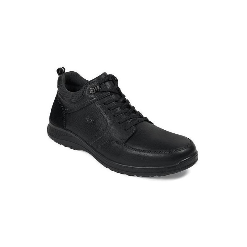 Zapato Flexi casual negro textura F50805