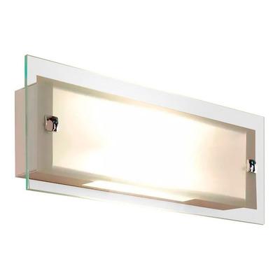 Aplique Moderno Baño Led 12w Calido Vidrio Gam 1320 Lm 3114