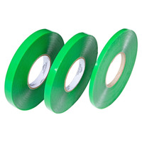 Fita dupla-face silicone verde 19 x 20 x 1mm