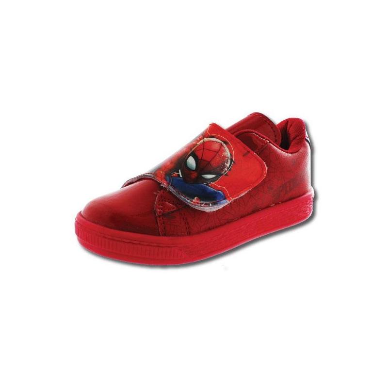 Sneakers Spiderman rojos T06015