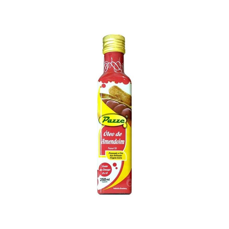 Oleo Vegetal de Amendoim - 250ml Pazze