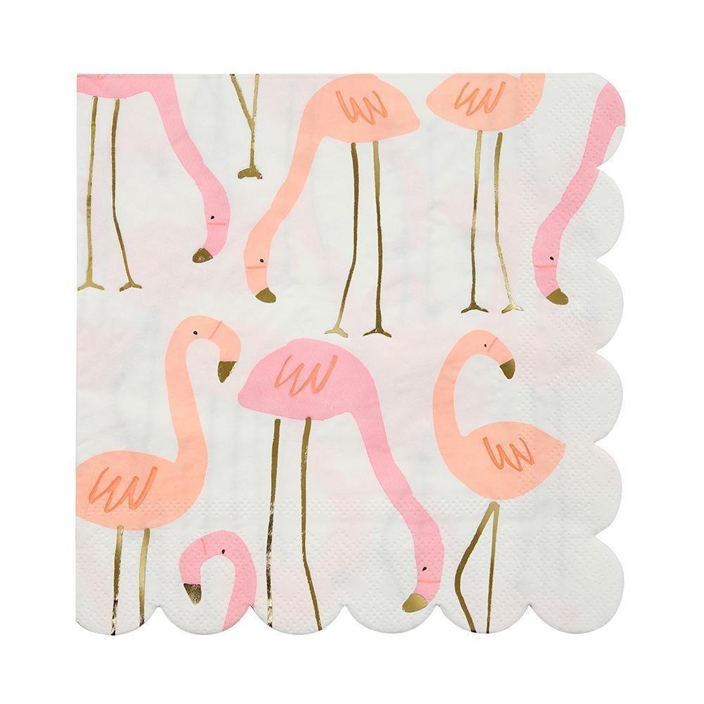 servilletas flamingo chicas