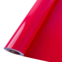 Vinil adesivo colormax vermelho radiante larg. 0,50 m