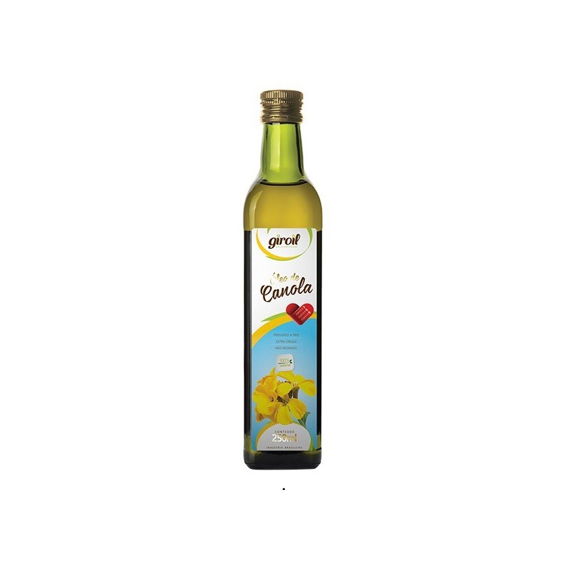 Oleo de Canola Extra Virgem 250ml - Giroil
