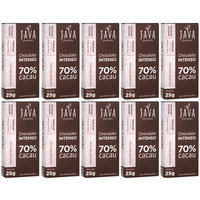 Chocolate Intenso 70% Cacau - Cx.10x25g - Java