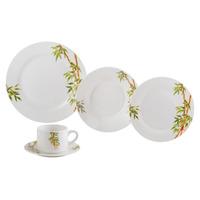 Jogo de Jantar 20 peças em Porcelana Tropicalis - Lyor 4102135