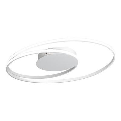 Plafon Led 54w Planet Dimerizable Deco Moderno Aluminio Puro