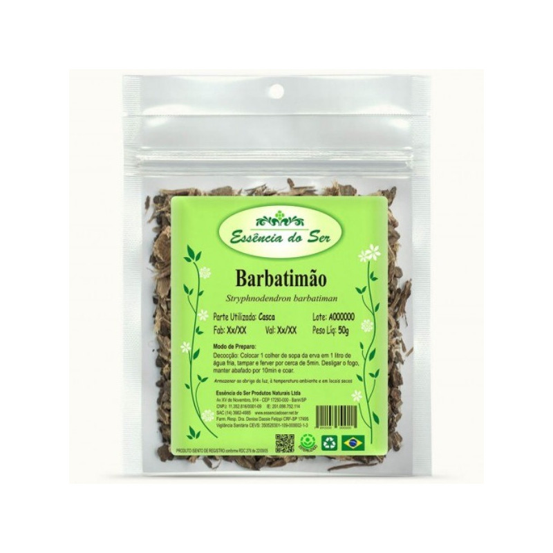 Cha de Barbatimao - Kit 2 x 50g - Essencia do Ser