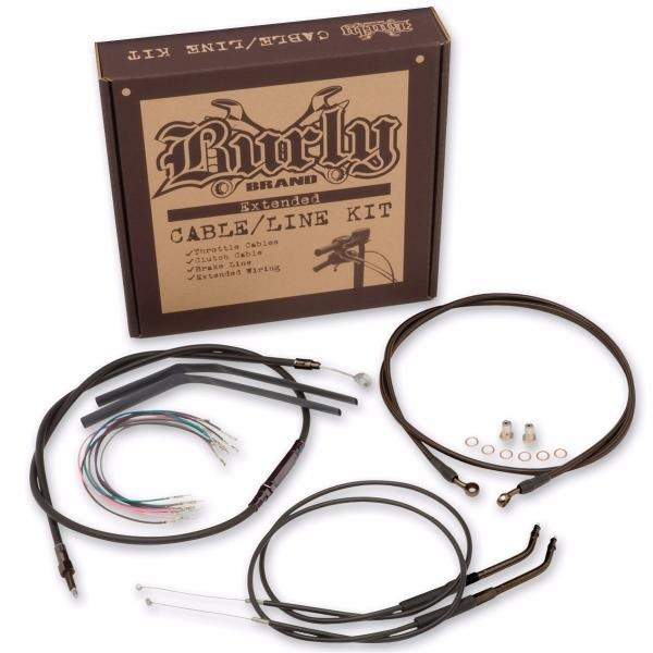 Kit Cabos Guidao Burly Ape 14 Harley Softail 07- 10 B30-1010