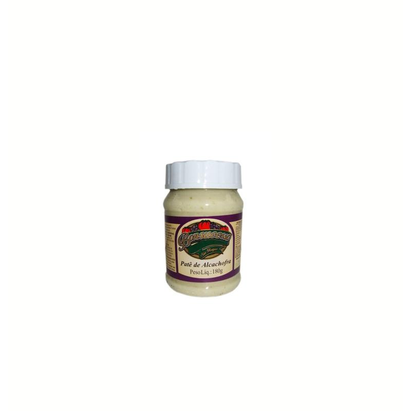 Patê puro de alcachofra com azeite 180gr. - Bonsucesso