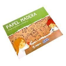 BLOCK PAPEL MADERA MURESCO x30 HOJAS - 32.5 X 25cm -
