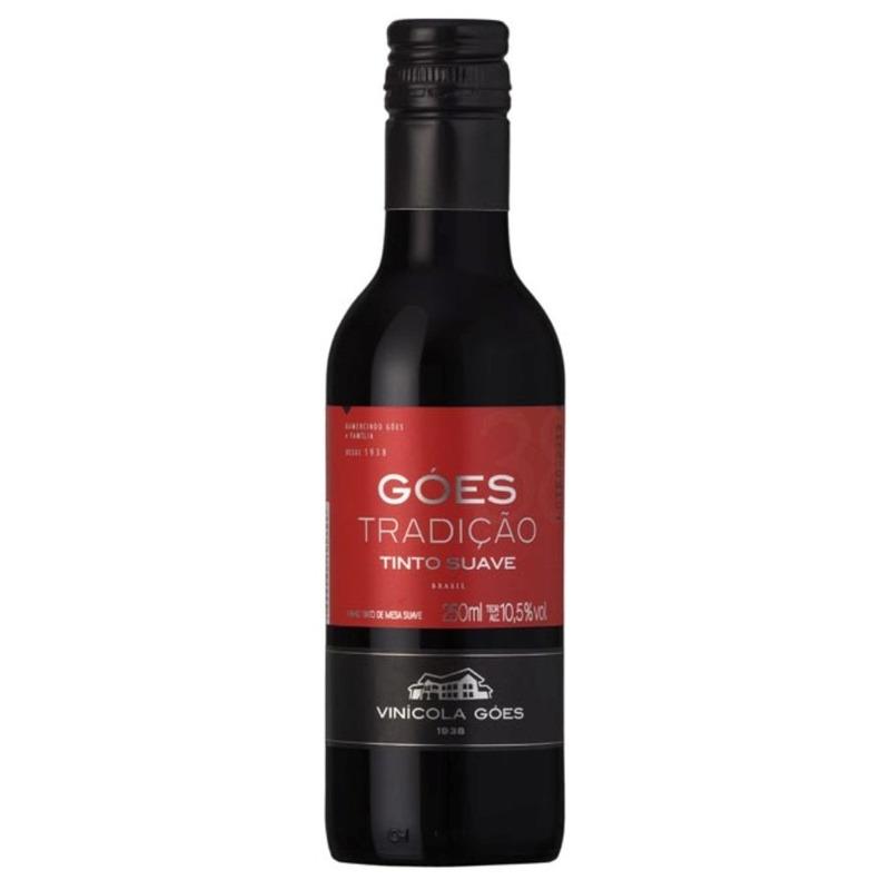 Vinho Tradição Tinto Suave Izabel/Bordô 250ml - Góes