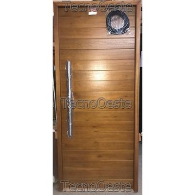 puerta madera exterior oblak x cm