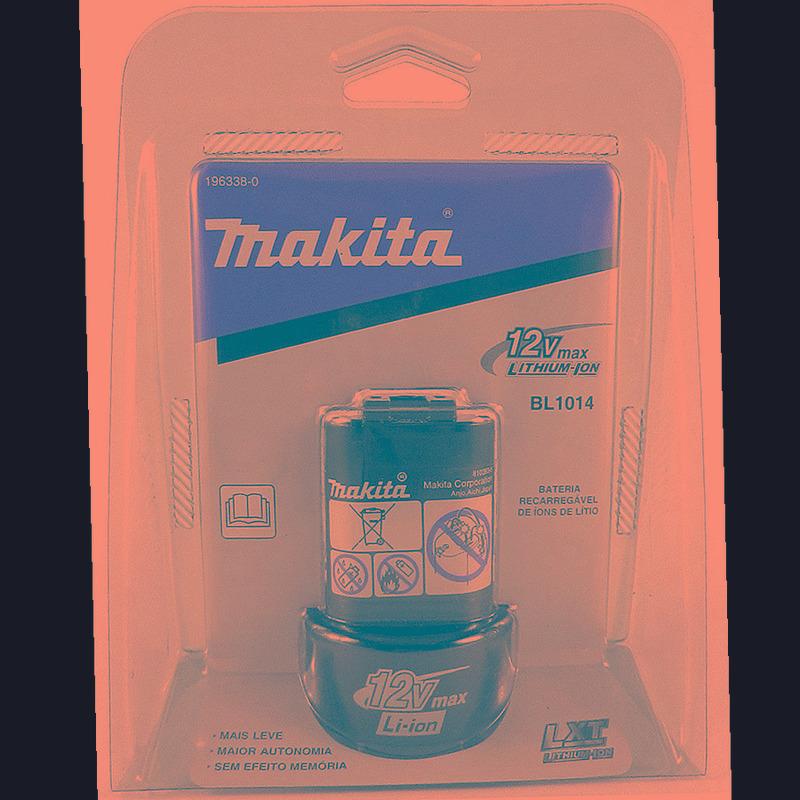 Kit Com 3 Baterias 12V Íon de Lítio BL1014 - 196338-0 - Makita