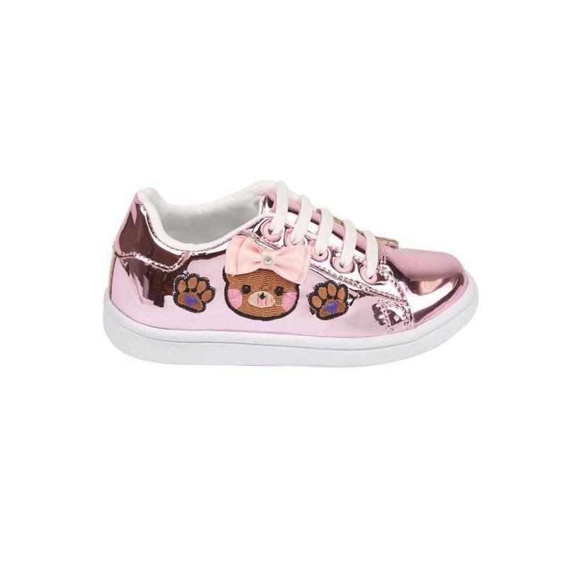 Sneakers oro rosado estampados 018850