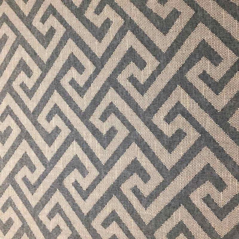 Tecido para estofado linho labirinto rústico  Linen 25