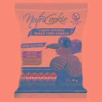 NutriCookie Integral Maca e Canela Sem Gluten 35g NutriPleno