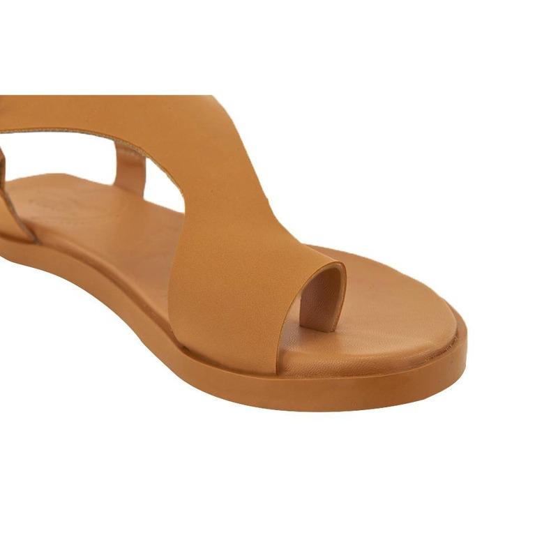 Sandalia De Piso Camel 020095