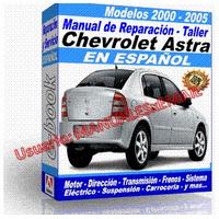 Manual de Reparacion Taller Chevrolet Astra 2000 2001 2002 2003