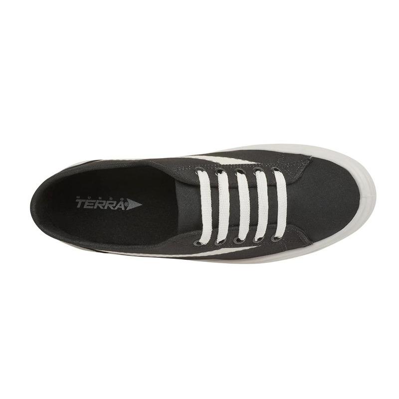 Sneakers negros con blanco  018733