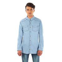 Camisa de mezclilla 014622