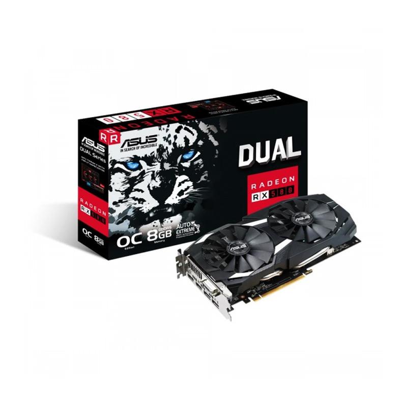 Tarjeta Gráfica Radeon RX580 Dual OC 8G