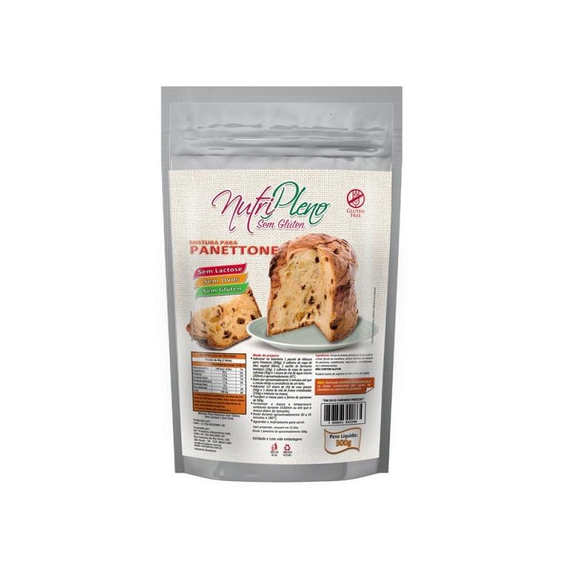 Mistura para Panetone/Colomba Sem Gluten - 300g - NutriPleno