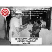ENASHU - Donacion Campañas Asistencia Humanitaria