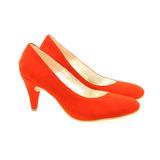 Stiletto Cana 1 Cabra Rojo