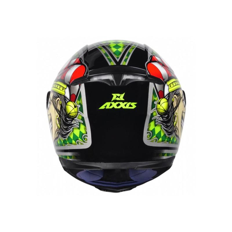 Capacete Axxis Eagle Joker Verde