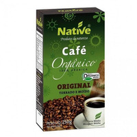 Cafe Organico (Torrado e Moido) - 250g - Native