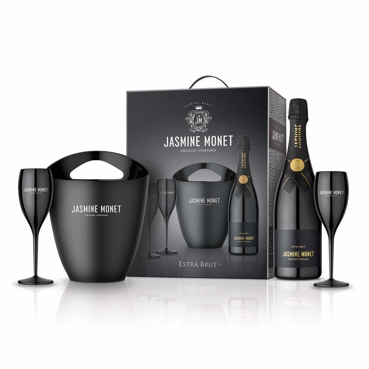 JASMINE MONET - BLACK Extra Brut  - Kit
