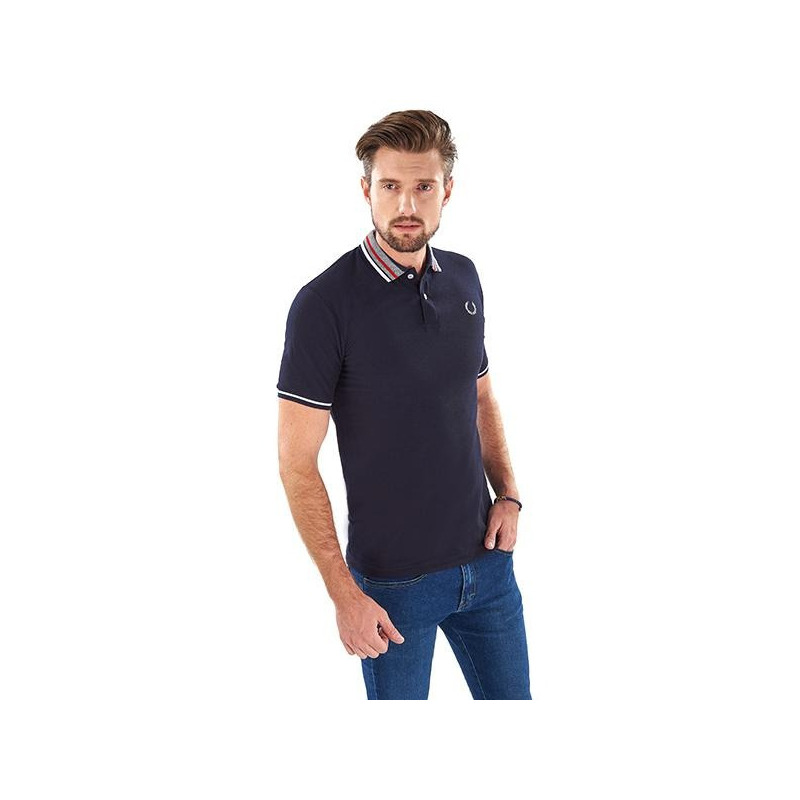 Camisa marino manga corta 014543