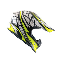 Capacete Helt Cross Mx Neon