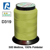 Linha Vision Dourado 100% Poliéster, 300m