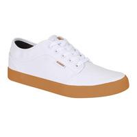 Sneakers Kswiss Blanco Con Suela Cafe Kbf025