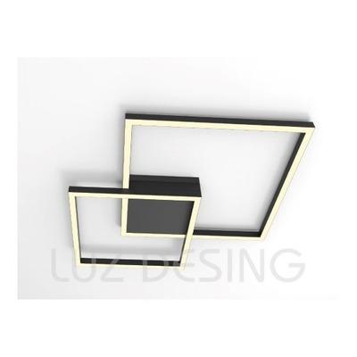 Plafon Lazo Led Luz Directa O Indirecta 60w Dimer Control