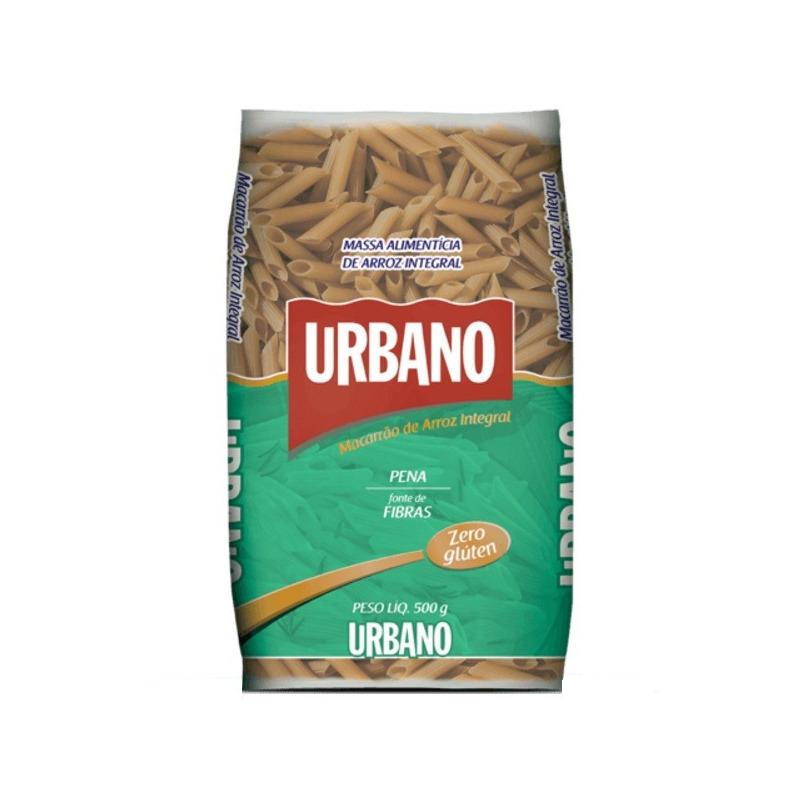 Macarrao de Arroz Integral sem Gluten Pena - 500g - Urbano