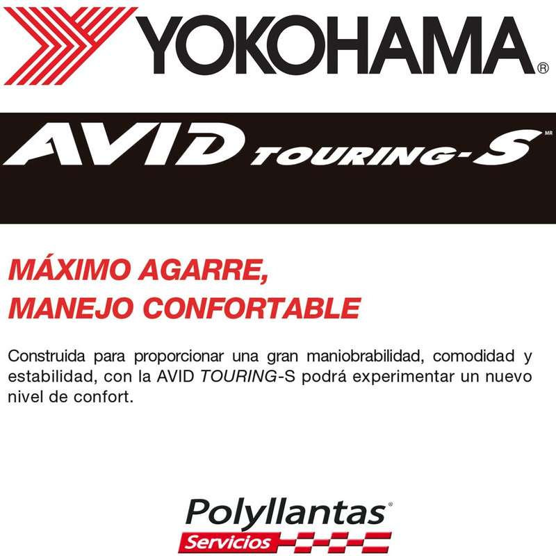 185-60 R15 84T Avid Touring S318 Yokohama