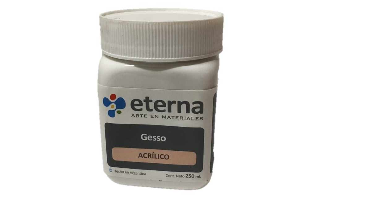 GESSO ETERNA ACRÍLICO 250ml