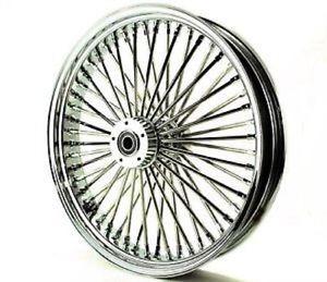 Roda Dianteira King Fat Spoke Cromada Aro 23 x 3,5 37-524 SD