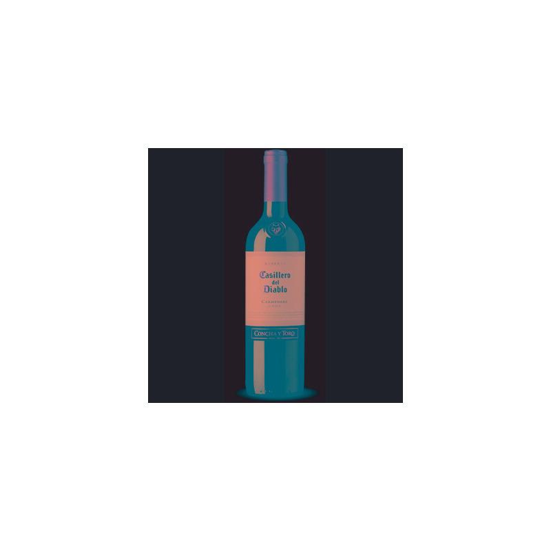 Vinho Fino Carménère Casillero Del Diablo 750ml - Concha y Toro